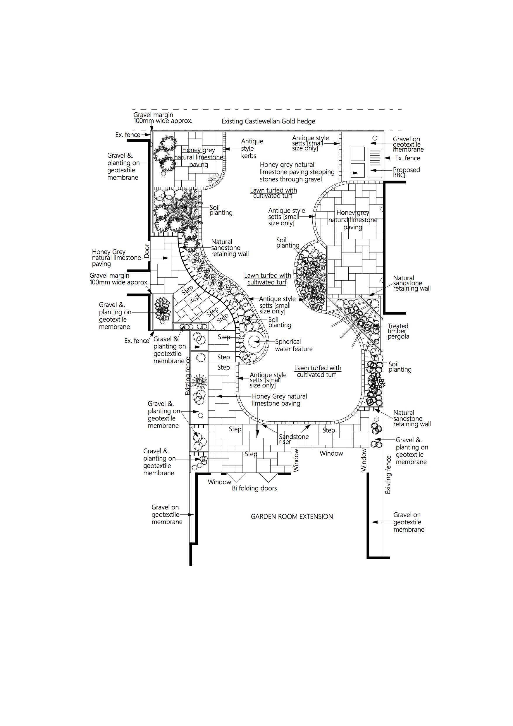 Modernised-Farmhouse-Garden-Plan