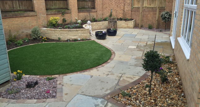 Completed-Sandstone-Paved-Garden