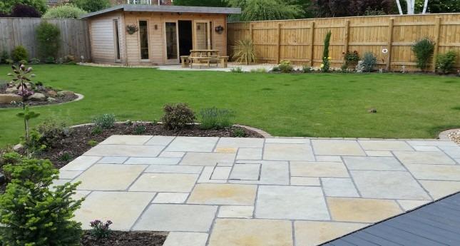 Patio-Garden-Design-Completion
