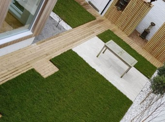 Aerial-View-of-Garden-Design-with-Decking