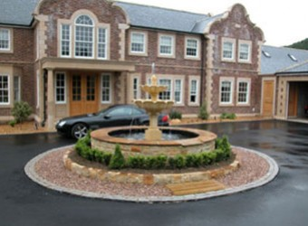 fountain-on-driveway
