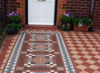 patterned-front-path