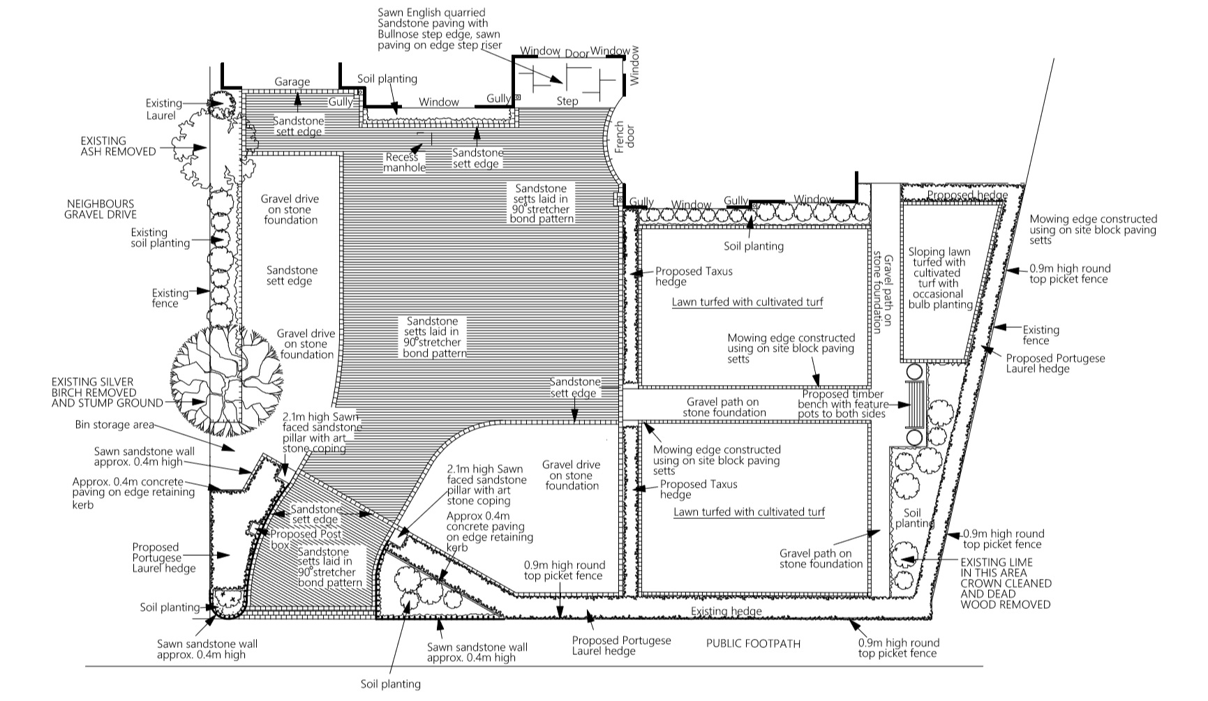 sandstone-sett-driveway-plans