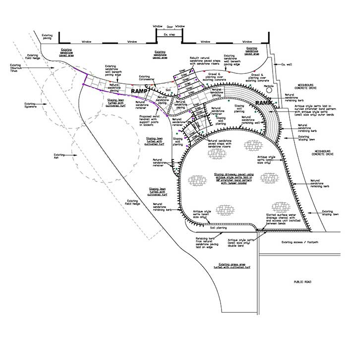 landscaping-plans-for-Durham-garden